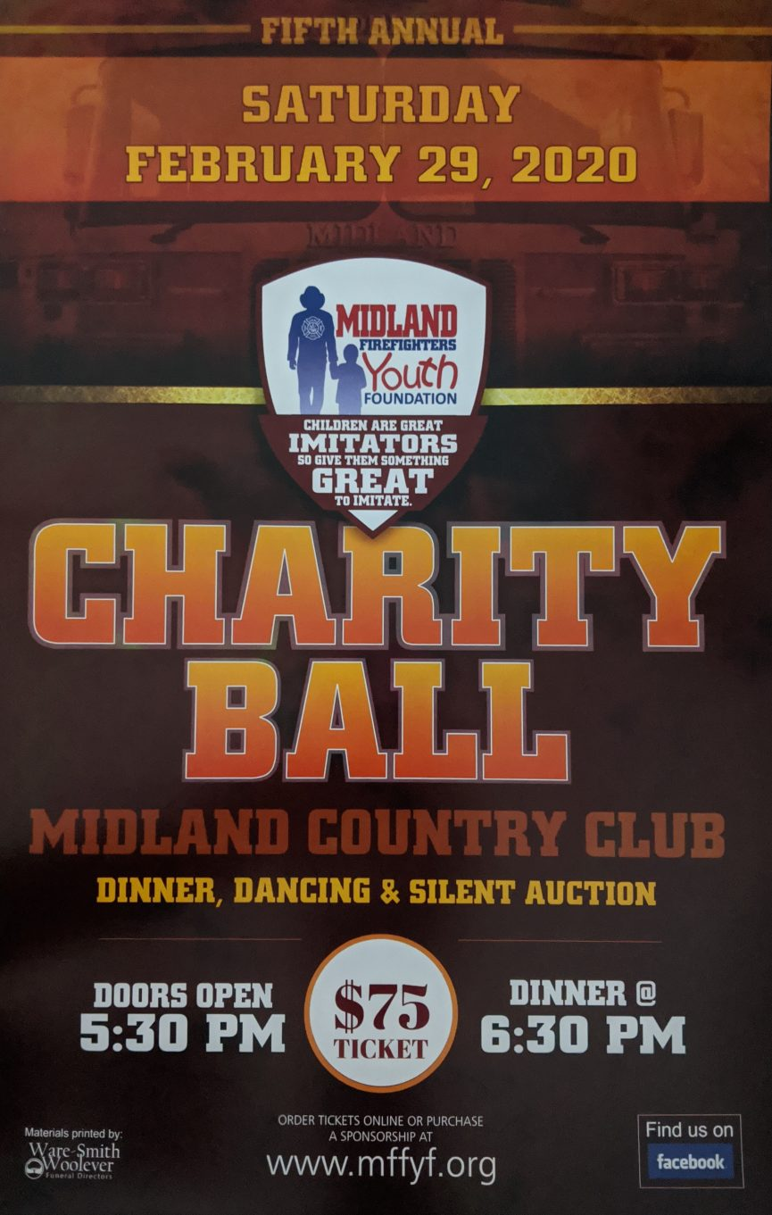 MFFYF Charity Ball Flyer